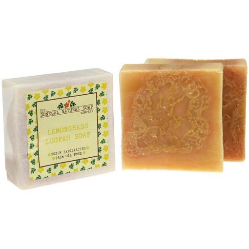 Lemongrass Loofah Soap Bar