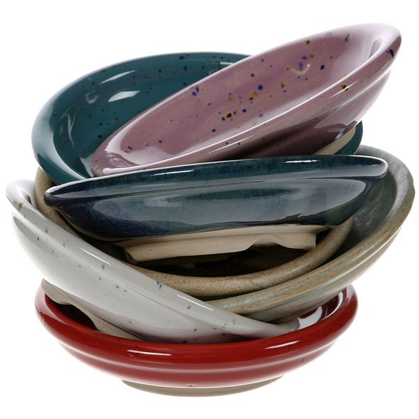 moville pottery ceramic soap dishes