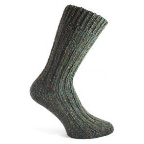 Donegal Socks Dark Green