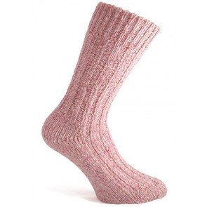 Donegal Socks | Light Pink