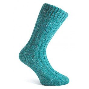 Donegal Socks | Turquoise