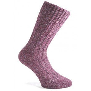 Donegal Socks | Violet