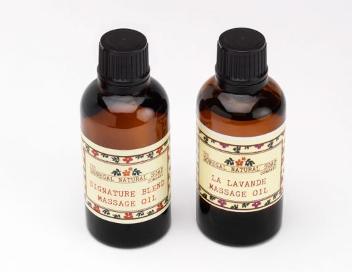 la lavande massage oil