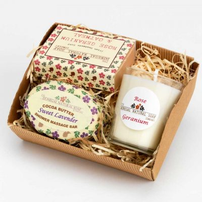 sweet lavander pamper set