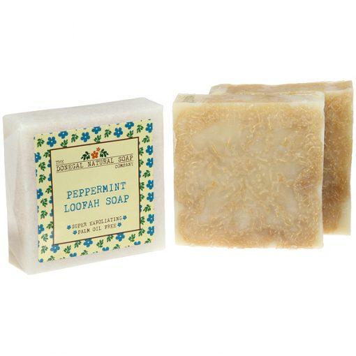 Peppermint Loofah Soap