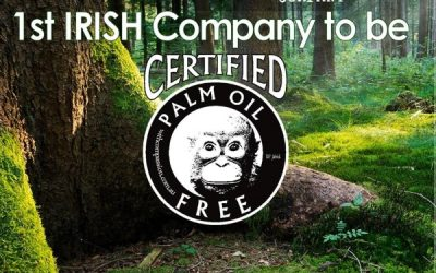 1st Company in Ireland to become Palm Oil Free Certified