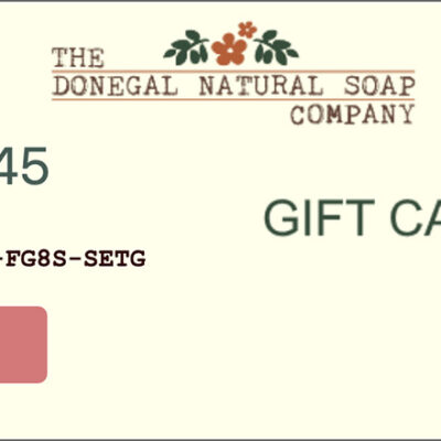 The-Donegal-Natural-Soap-Gift-Voucher-Sample